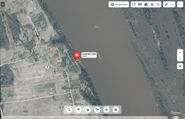 Карта пример