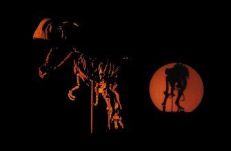Тарбозавр в темноте