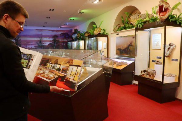 Первый зал музея в книге