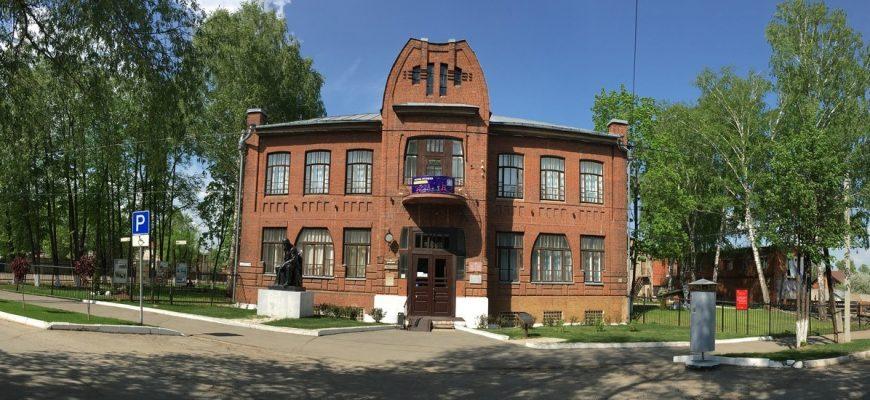 Фасад Сарапульского музея